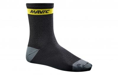 mavic 2016 paire de chaussettes ksyrium merino noir