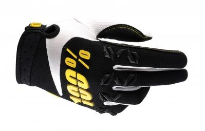100 paire de gants airmatic noir jaune