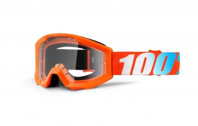 100 masque strata orange ecran transparent