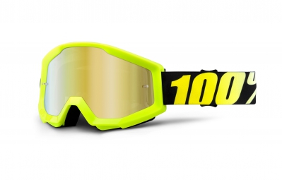 100 masque strata jaune ecran or