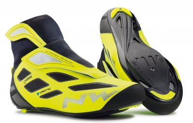 paire de chaussures northwave fahrenheit arctic 2 gtx black yellow