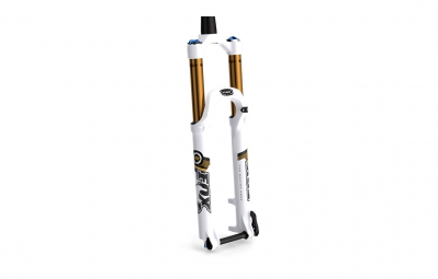 fox racing shox fourche 27 5 32 float factory ctd adj fit 15mm conique blanc