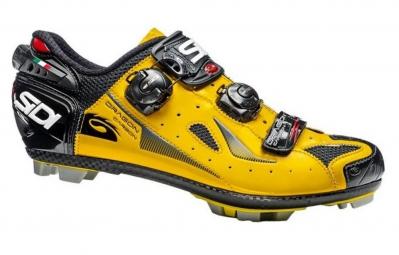 chaussures vtt dragon 4 srs jaune noir