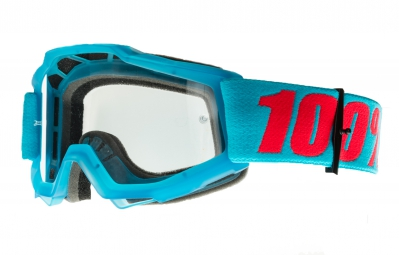 100 masque accuri acidulous bleu ecran transparent