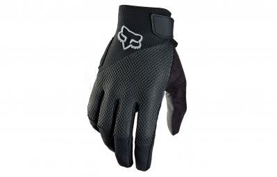 fox paire de gants femme reflex gel noir