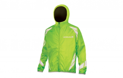 endura veste coupe vent enfant luminite ii vert