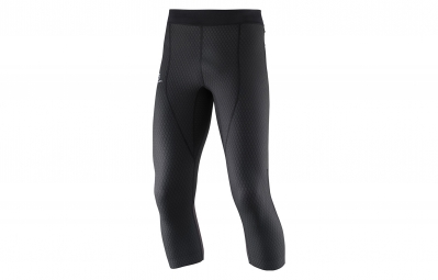 salomon collant de compression 3 4 homme exo pro noir