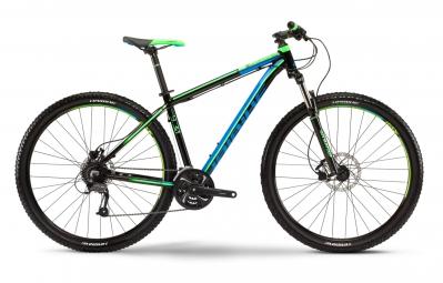 haibike 2016 velo complet 29 big curve 9 30 noir bleu vert