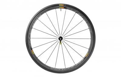 mavic 2016 roue avant ksyrium pro carbone sl noir pneu yksion pro 25mm