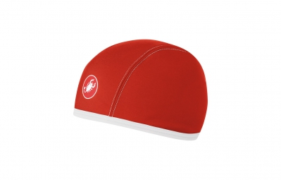 castelli sous casque thermo skully rouge