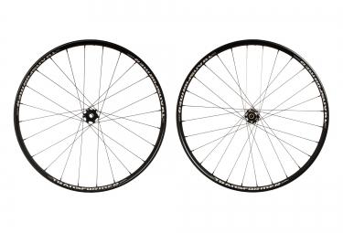 msc paire de roues 26 transformer disc av 15 20mm ar 12x142mm noir