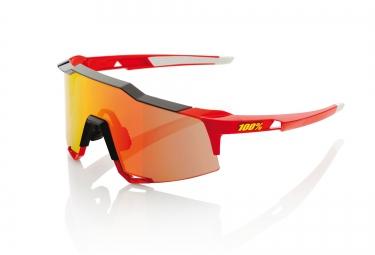 100 lunettes speedcraft ll rouge ecran rouge iridium