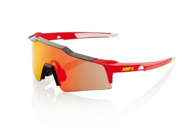 100 lunettes speedcraft sl rouge ecran iridium rouge
