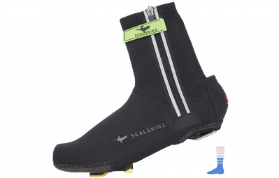 sealskinz couvre chaussures neoprene halo noir