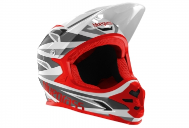 casque integral bluegrass intox gris rouge