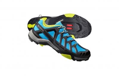 chaussures vtt shimano mt34 2016 bleu