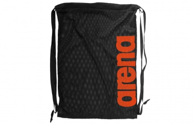arena sac a dos fast mesh noir orange