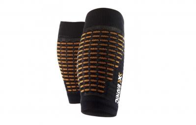 x bionic manchon de compression spyker bq 1 noir orange