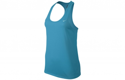 nike debardeur fitness 5 bleu femme