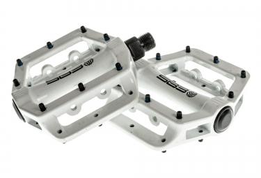sb3 pedales fast blanc aluminium