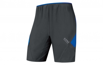 gore running wear pantalon corto air 2in1