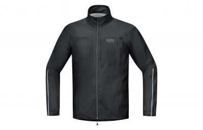 gore running wear veste essential gore tex active noir