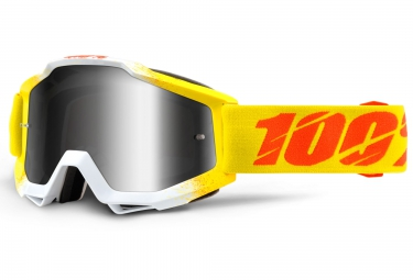 100 masque accuri zest jaune ecran iridium gris