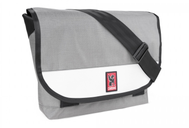 chrome sac classic messenger gris blanc