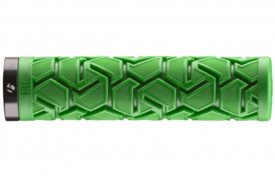 bontrager paire de grips race lite plus 130mm vert