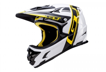 casque integral gt fury blanc