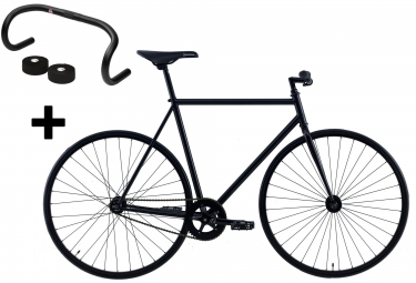 focale 44 velo complet fixie fullmoon guidon loyal noir