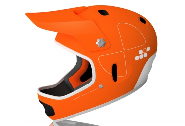 casque integral poc cortex flow orange