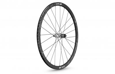 dt swiss roue avant carbone r 32 spline disc pneu