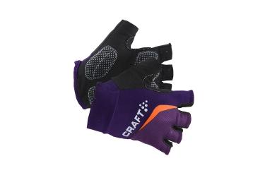 craft paire de gants classic dynasty lila femme