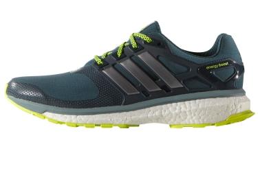 adidas paire de chaussures energy boost 2 0 atr homme vert noir