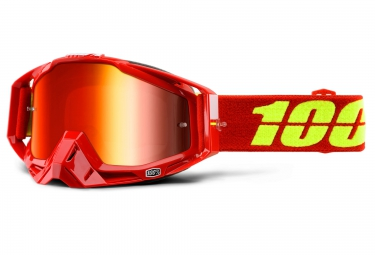 100 masque racecraft corvette rouge ecran mirror red