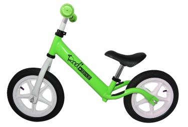 rad bike draisienne 12 2 3 ans vert