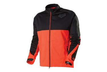 fox veste bionic lt trail orange noir