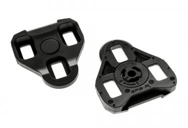 neatt paire de cales pour look keo 0 noir