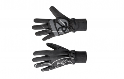 odlo paire de gants winter bike noir