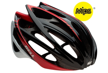 casque bell gage mips noir rouge