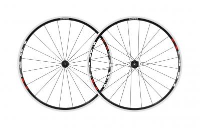 shimano paire de roues r501 noir rouge