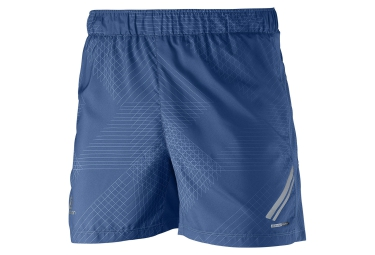 salomon short homme agile short tight bleu