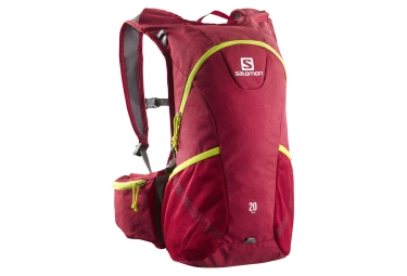 salomon sac a dos trail 20 rouge