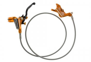 hope frein avant tech 3 v4 durite aviation orange sans disque ni adaptateur
