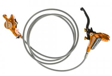 hope frein arriere tech 3 x2 orange durite aviation sans disque ni adaptateur