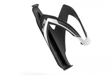 elite porte bidon custom race noir blanc mat