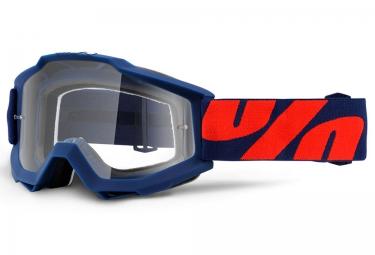 100 masque accuri raleigh bleu ecran transparent