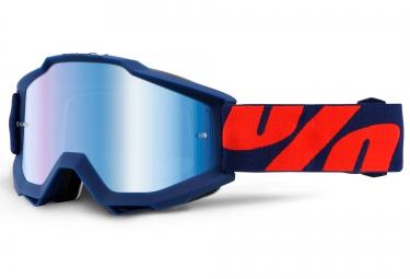 100 masque accuri raleigh bleu ecran iridium bleu
