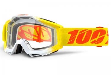 100 masque accuri zest jaune ecran transparent